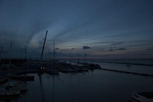 Sinine päikeseloojang